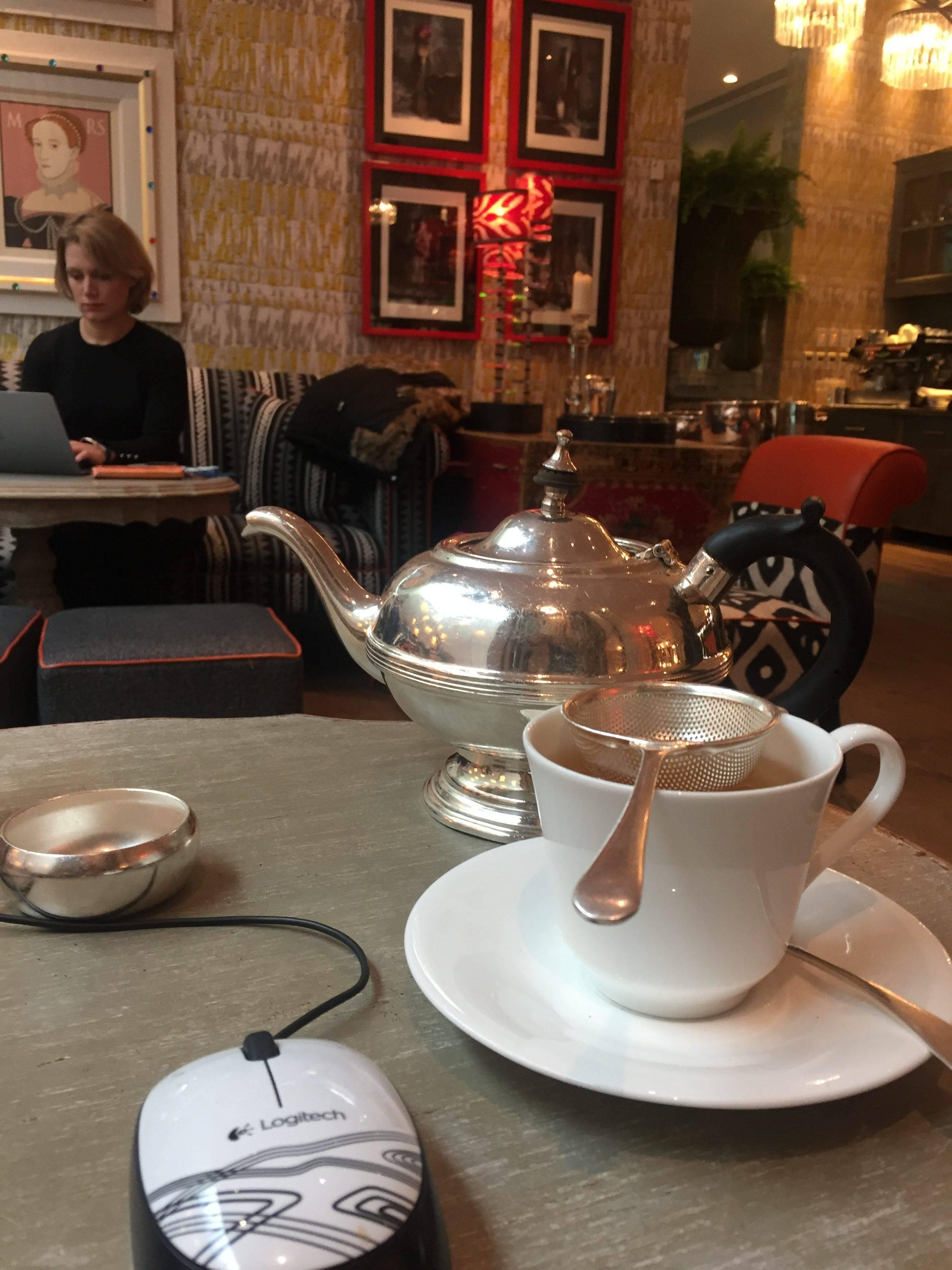 Стильный завтрак в Лондоне в Сохо (Soho)