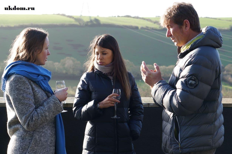 Экскурсии на винодельню Camel Valley Vineyard Графство Корнуолл, Англия