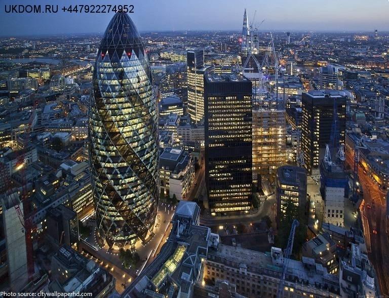 Лондон Сити, экскурсия на башню The Gherkin